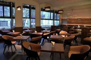 Кофейня Lutz bar в Вене