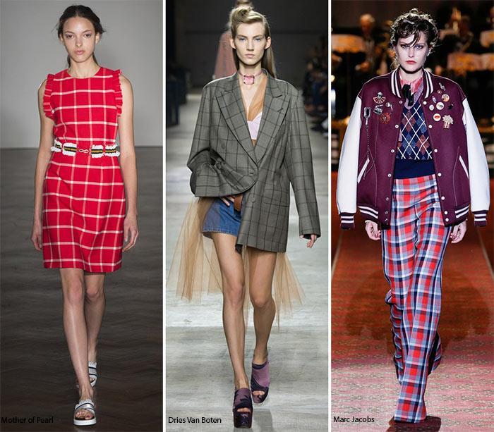 Модный принт 2016 года - клетка