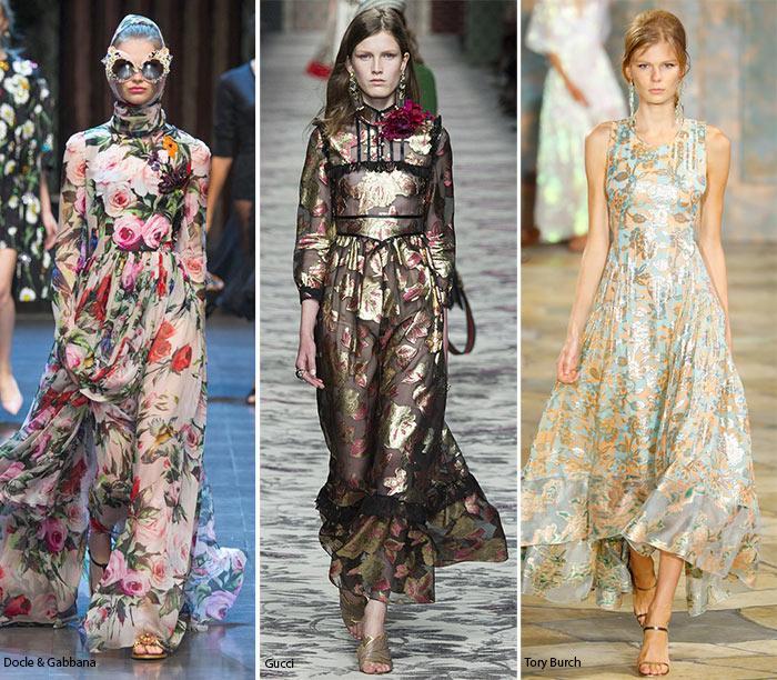 Модный принт 2016 года - цветочный
