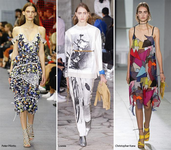 Модный принт 2016 года - абстракция