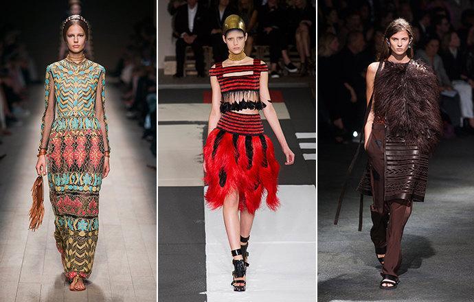 Модный принт 2016 года - этнический