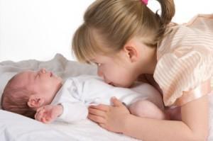 Ребенок ревнует к младшему - что делать?