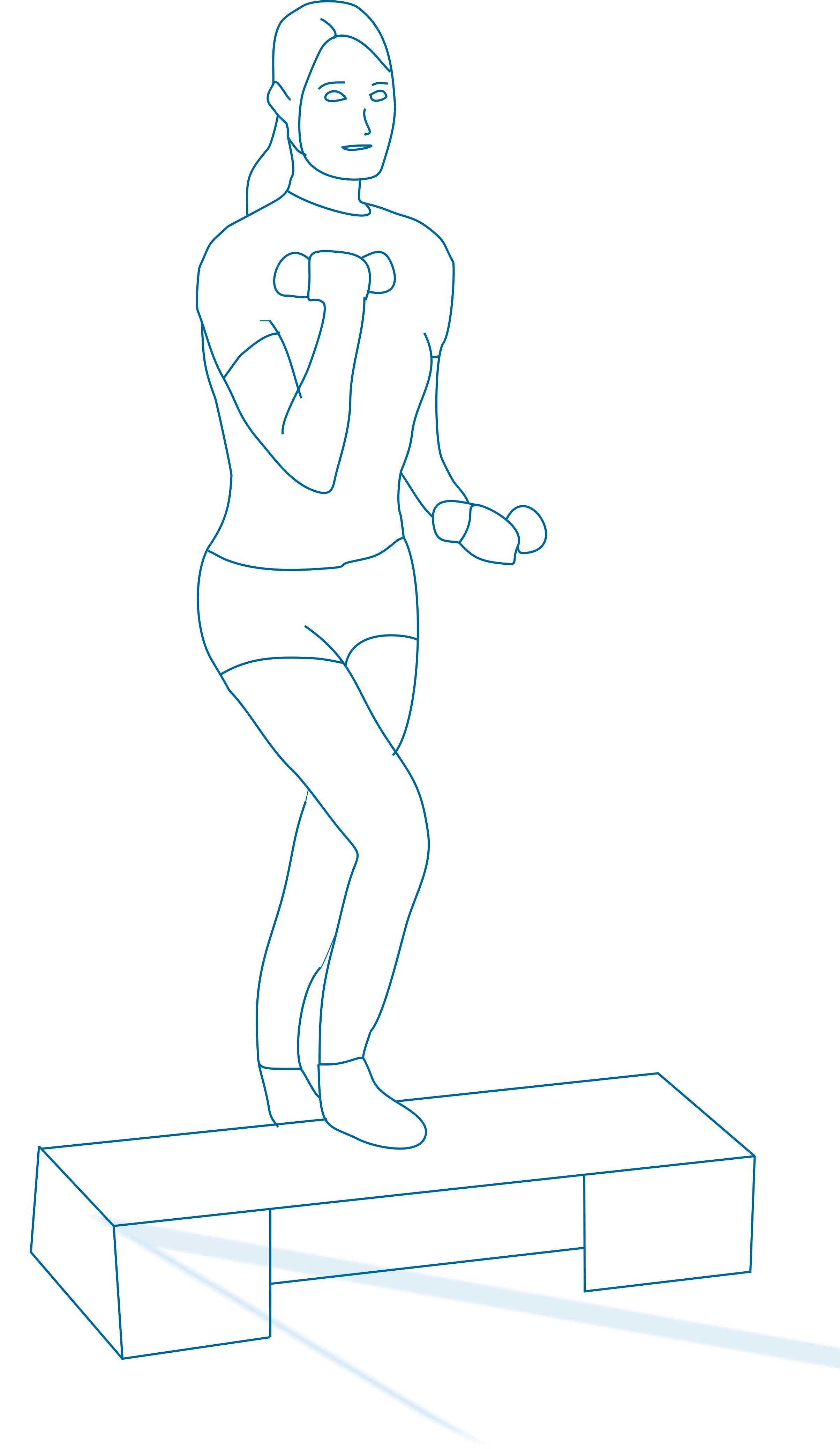 Упражнения на степ доске для похудения