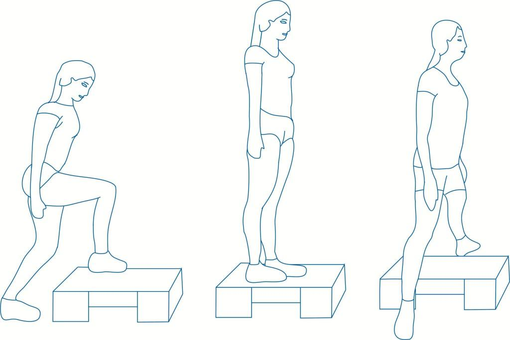 Упражнение 8 - прыжки