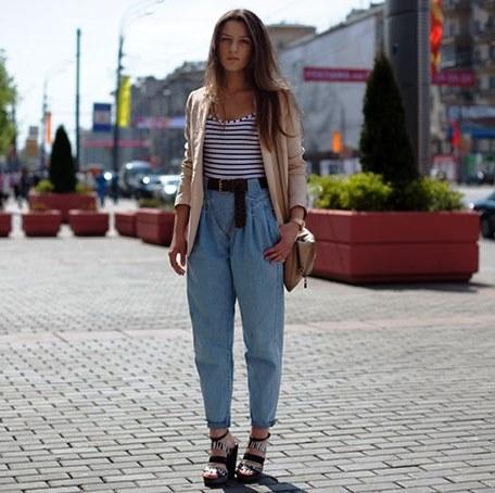 Широкие пояса для брюк с завышенной талией