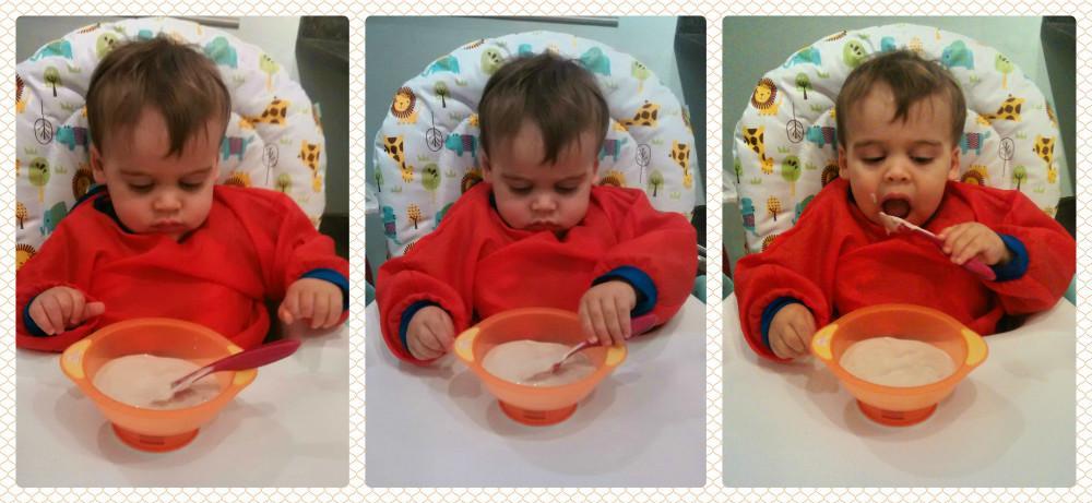 Как приучить ребенка кушать ложкой самостоятельно