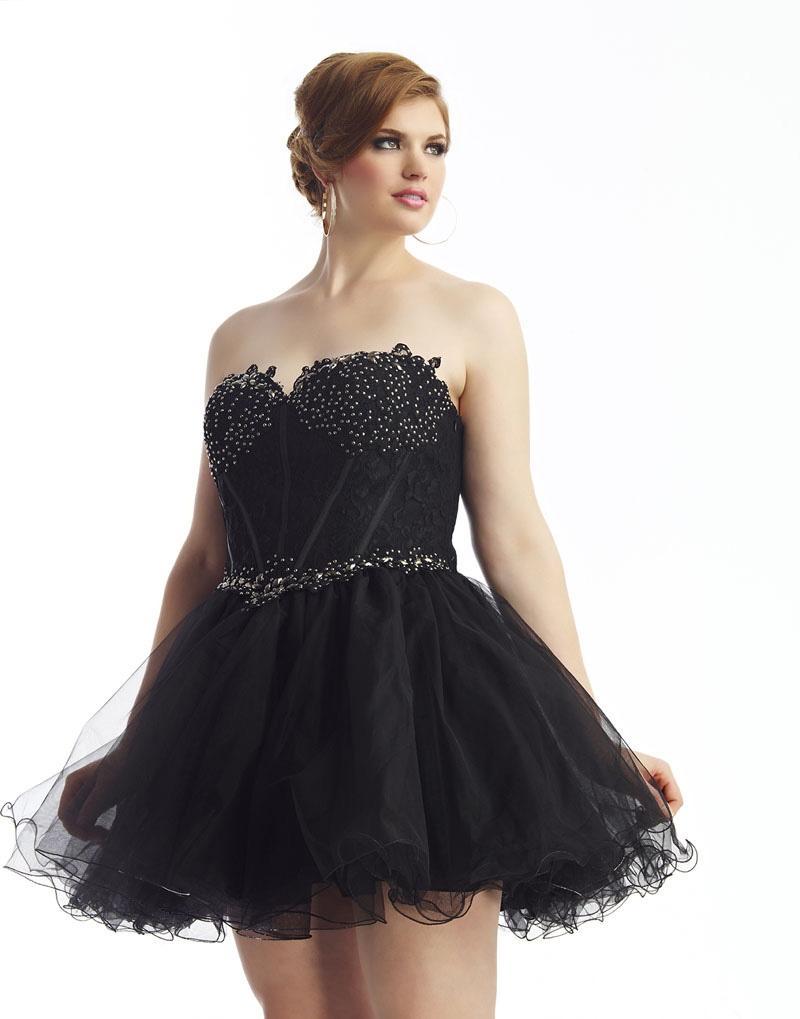 Маленькое черное платье на выпускной 2016