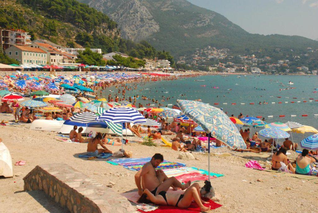 Большой пляж, Черногория