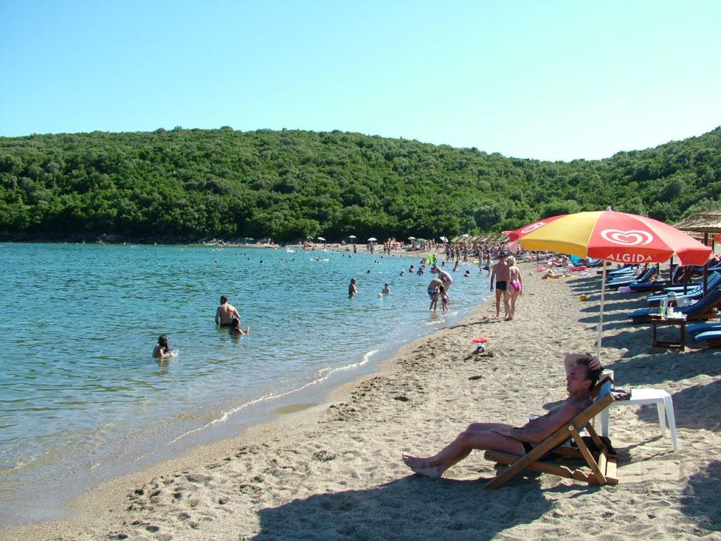 Черногория, пляж Яз