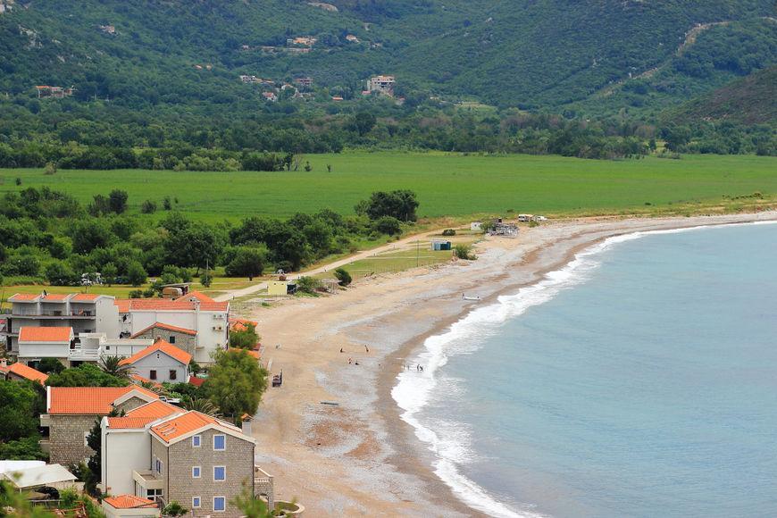 Черногория, пляж Булярица