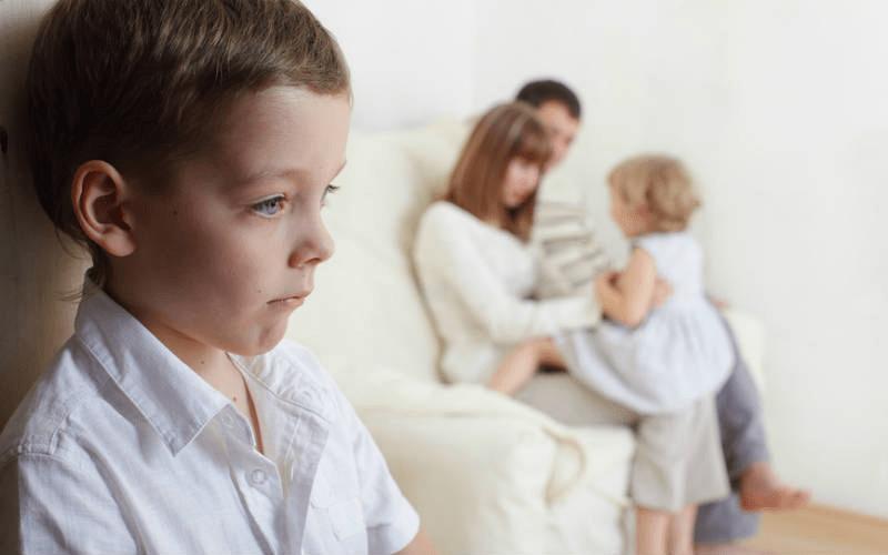 Примет ли муж бывшую жену с ребенком от другого