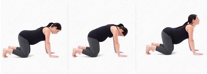 Почему болит спина у беременной?
