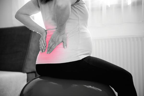 Беременная болит спина ночью
