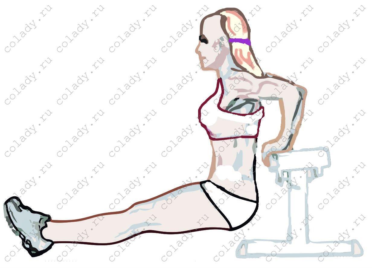 как убрать жир на спине около шеи