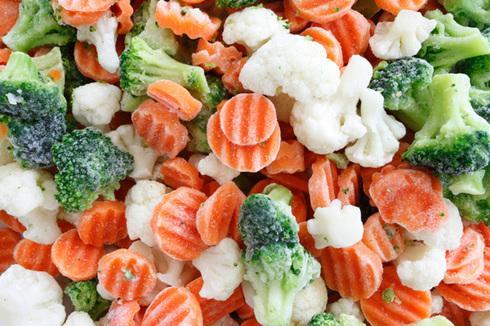 Заморозка овощей и грибов
