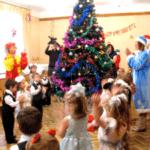Сценарий новогоднего утренника в младшей группе детского сада — Волшебный снежок