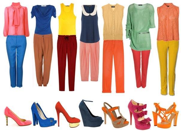 Правильное сочетание одежды