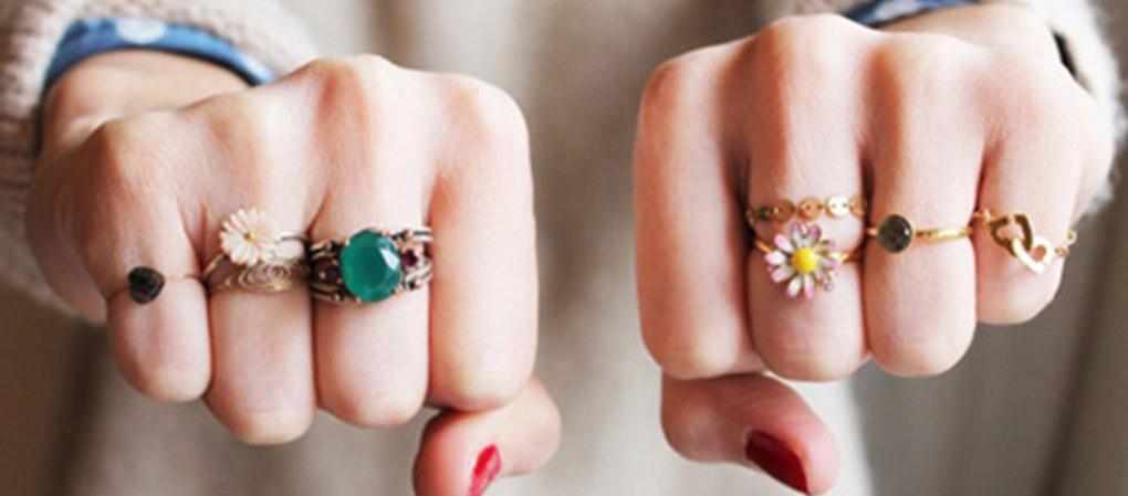 Сколько колец носят и на каких пальцах?
