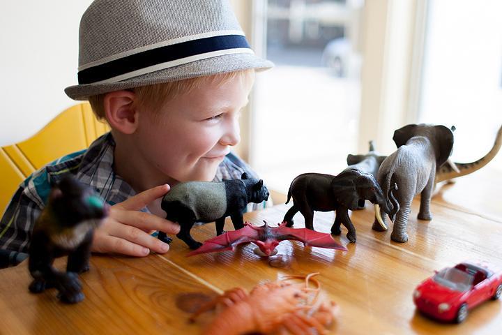 Тематические прогулки с детьми 2-5 лет - следы животных