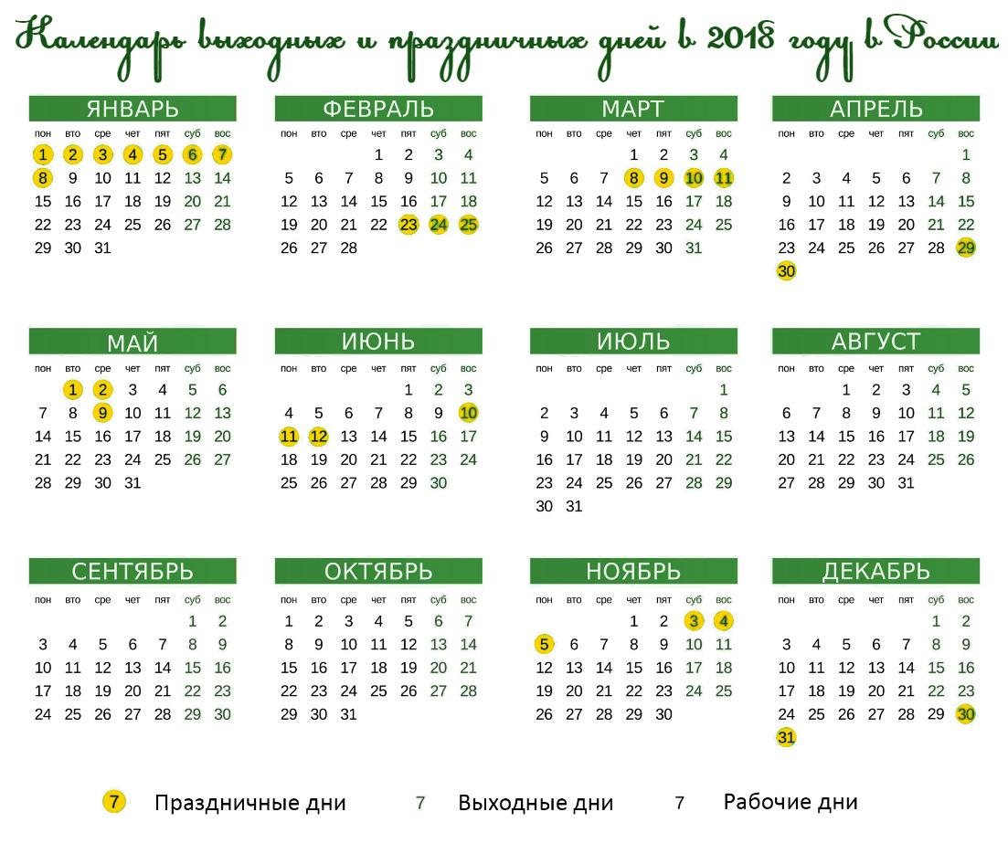4 ноября государственные праздники