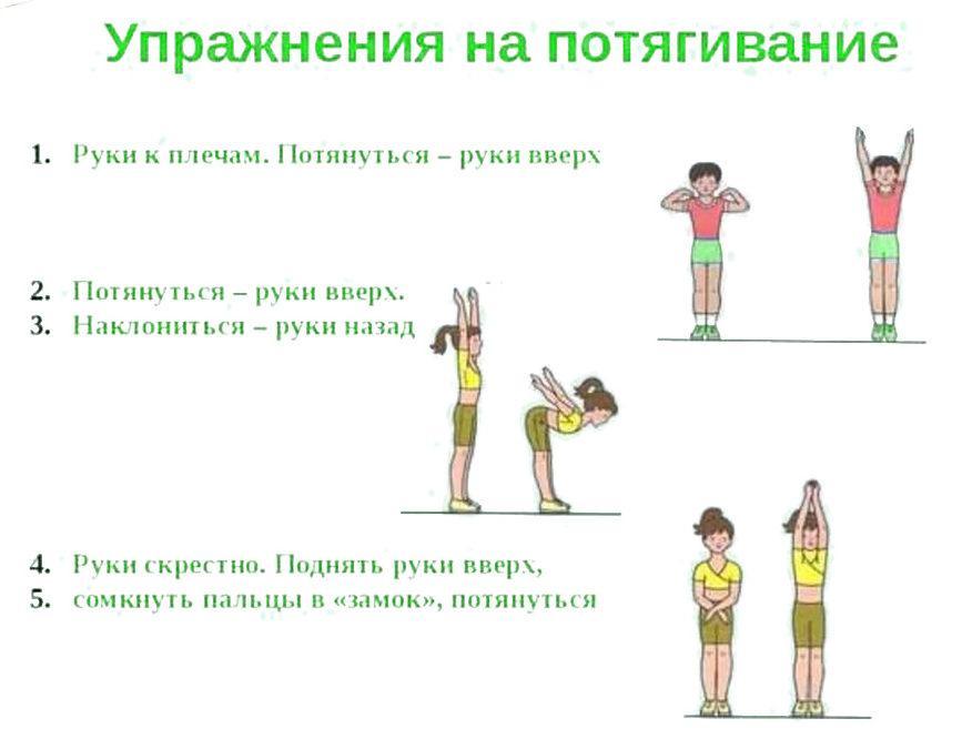 Упражнения на потягивание