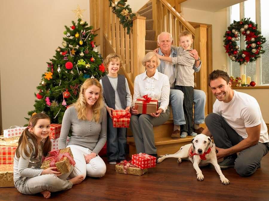 Семейный Новый год - игры и конкурсы