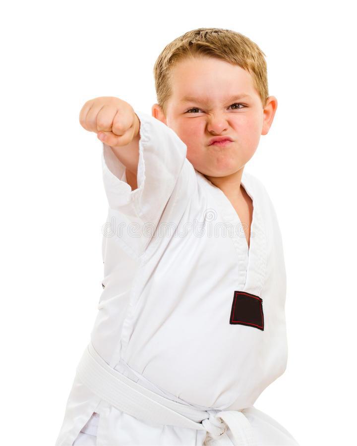 Подходит ли каратэ для ребенка?