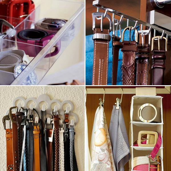 Приспособления и органайзеры для хранения вещей и одежды в шкафу