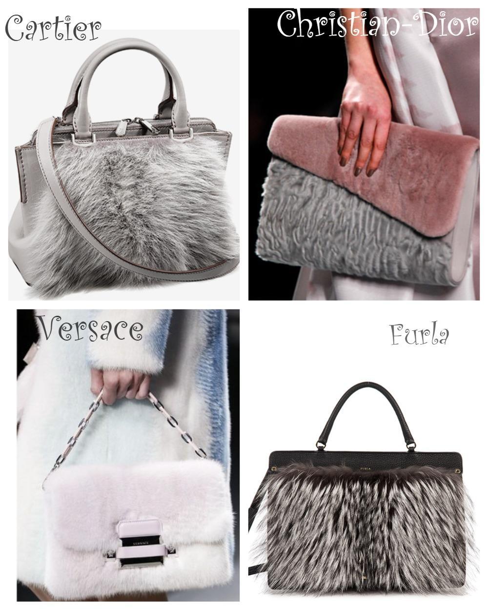 Меховые сумки 2018-2019
