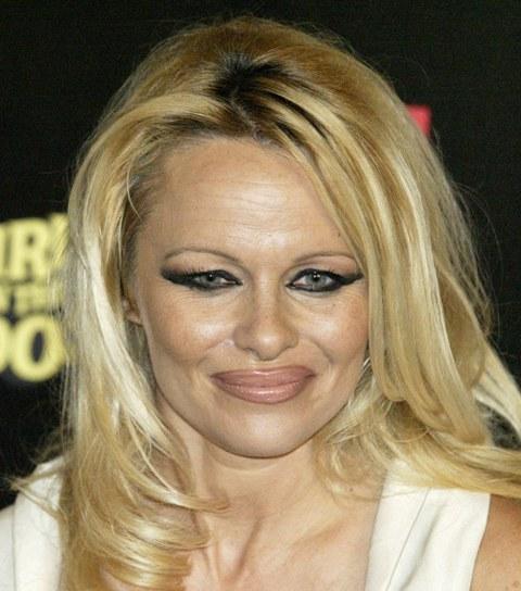 Памела Андерсон: просто кладезь ошибок макияжа...