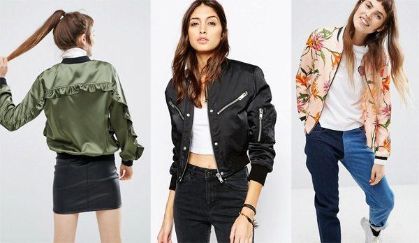 Женские куртки-бомберы