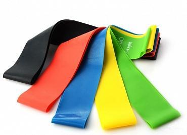 Резинки для фитнеса - польза, правила выбора резиновых петель для тренировок