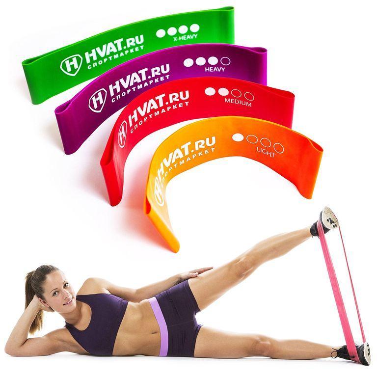 Резинки для фитнеса - польза правила выбора резиновых петель для тренировок