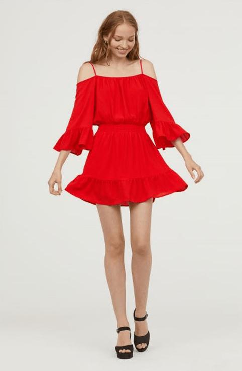 Яркое платье из H&M