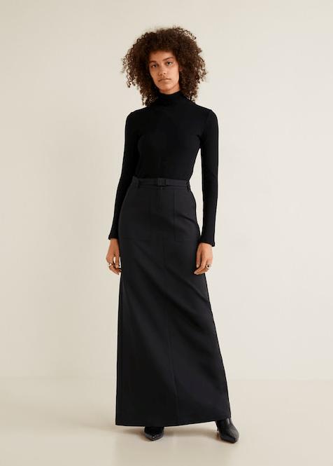 Длинная юбка из Mango