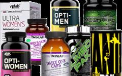 10 лучших витаминно-минеральных комплексов при занятиях спортом
