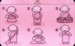 Тест: выберите своего буддийского монаха и получите от него мудрое наставление