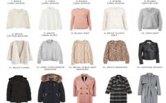 Капсульный гардероб на зиму 2019/2020 — масс-маркет