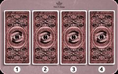 Выберите одну из этих четырёх карт и получите личное предсказание от оракула