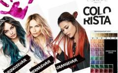 Краска Colorista от Лореаль: цветные пряди для волос — каждый день разные