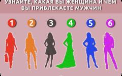 TEST-time! Чем вы привлекаете мужчин? Психологический тест для женщин