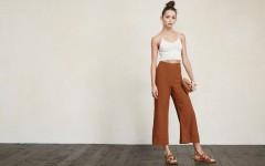 Модные женские кюлоты зимой и летом – стильные образы с брюками-кюлотами и советы по выбору