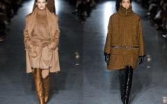 Какие сапоги, шапка и сумка будут сочетаться с коричневым пальто — вариации