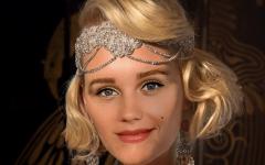 Современные российские актрисы в образах разных годов 20 столетия – вот это мода!