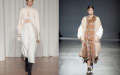 Пальто с длинной юбкой — что можно и нельзя в этом году?