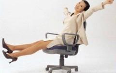 6 упражнений для плоского живота — гимнастика, сидя на стуле