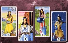 Выберите 1 карту с цыганками, и она предскажет вам будущее в личной жизни