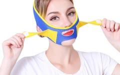 В моду входит маска-намордник для коррекции подбородка
