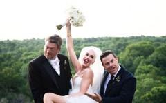 «Мечты сбываются»: Гвен Стефани и Блейк Шелтон отпраздновали скромную и закрытую свадьбу