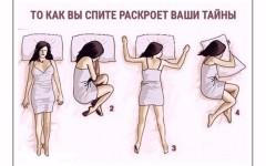 Психологический тест: то, как вы спите, раскроет ваши тайны